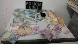 Policia Civil de Cuité estoura boca de fumo e prende acusado