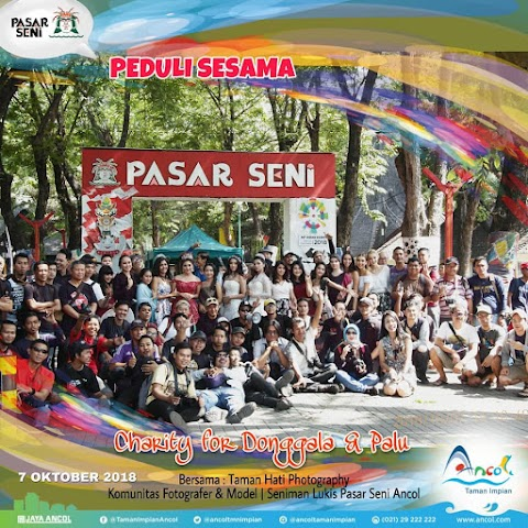 Charity for Donggala & Palu Ancol 2018