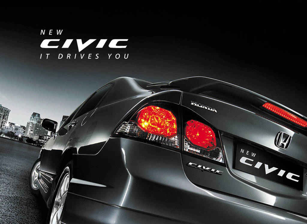 auto mobiles: honda civic reborn 2012