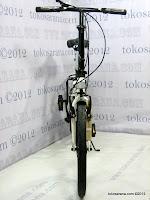 A 20 Inch Fold-X Hokaido 7005 Alumunium Alloy Frame Folding Bike