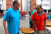 Concurso de paellas en las fiestas de Retuerto