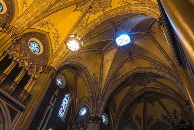 O lanternim da Catedral propicia iluminação natural no interior