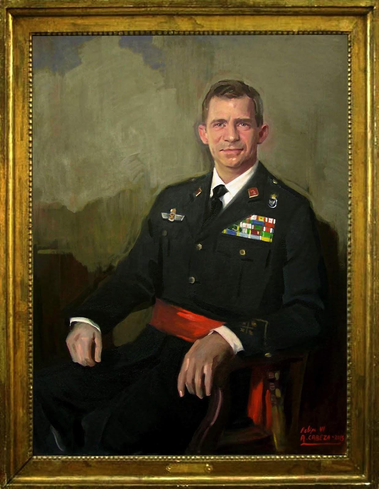 Retrato de Felipe VI