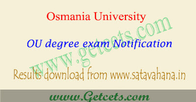 OU degree 3rd sem results 2019 2nd year exam manabadi
