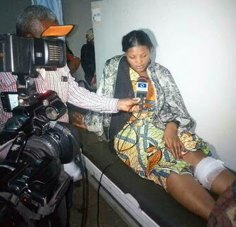 See Woman Who Escaped After Over 100 Were Killed In Plateau