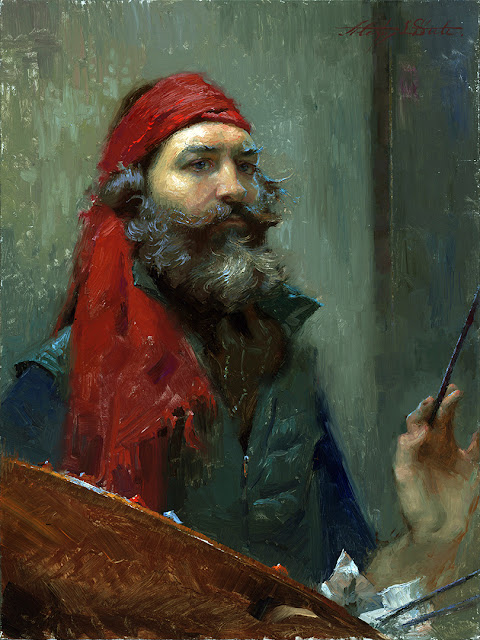 Alexey Steele, Portraits of Painters, Self Portraits, Fine arts, Leonid Mikhailovich Steele