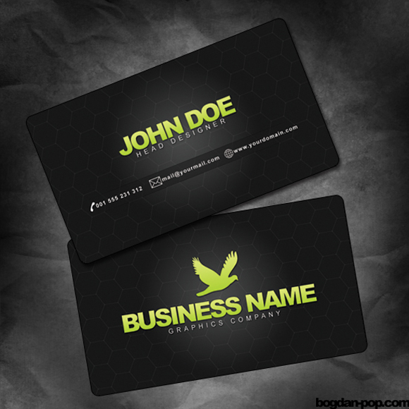 Business Cards Psd Template