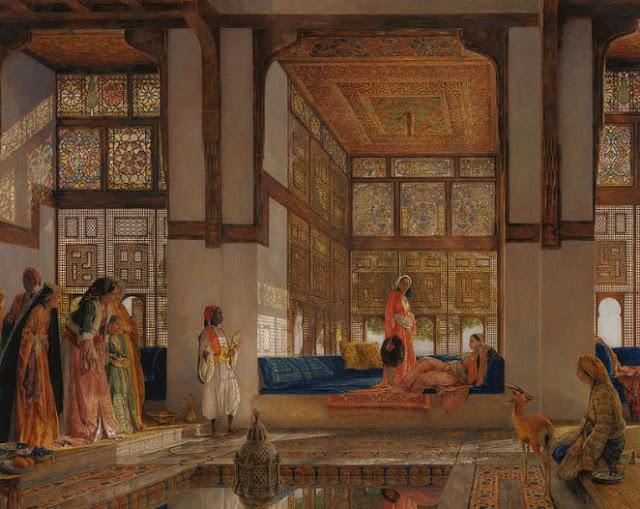 inside the harem paintings