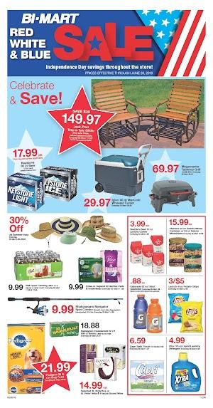 Bi Mart Specials Ad June 27 - July 3, 2019