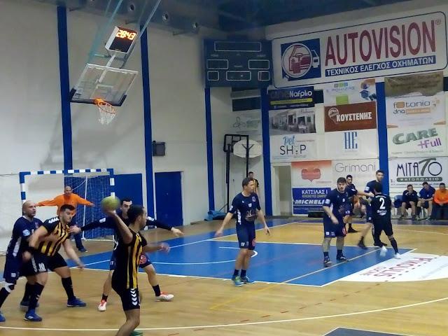 Ο Πολυνίκης επέστρεψε στις νίκες - Νίκησε την ΑΕΚ Βύρωνα με 31-24