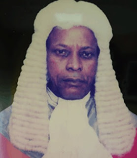 Justice James Omo-AgegeFormer Chief Judge of Delta State  is dead.
