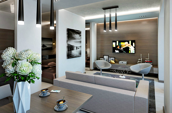 Kumpulan Desain Meja dan Rak TV Minimalis Terbaru Yang Elegan 002