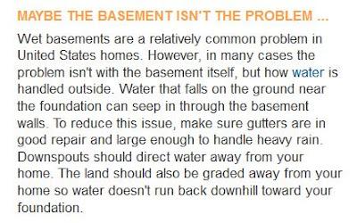 sump pump problems