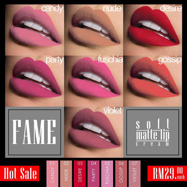 Review Soft Matte Lip Cream by Fame Cosmetics