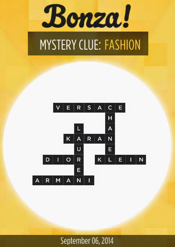Bonza Mystery Clue To End A Video Game