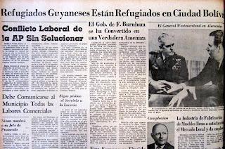 Resultado de imagen para venezuela y la rebelion guayanesa