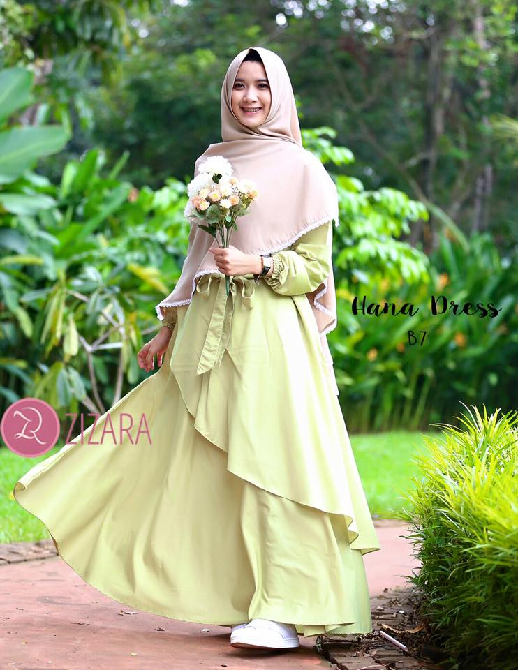 Gamis Zizara Hana Dress B7