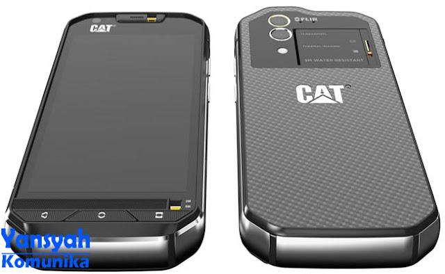 CAT S60, Smartphone Outdoor dengan Kamera Pendeteksi Panas