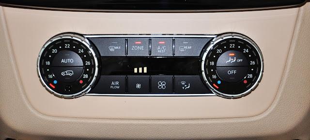 Mercedes GLS 400 4MATIC sử dụng Điều hòa không khí đa vùng