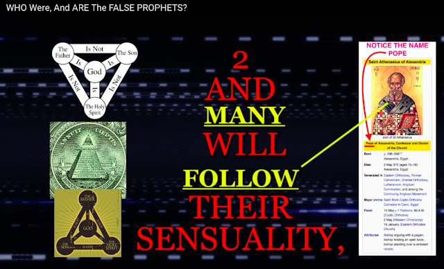 And many will follow their sensuality, and because of them the way of truth will be blasphemed. 2 Peter 2:2.
