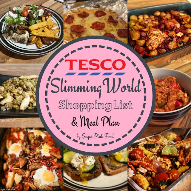 7 day syn free slimming world meal plan tesco