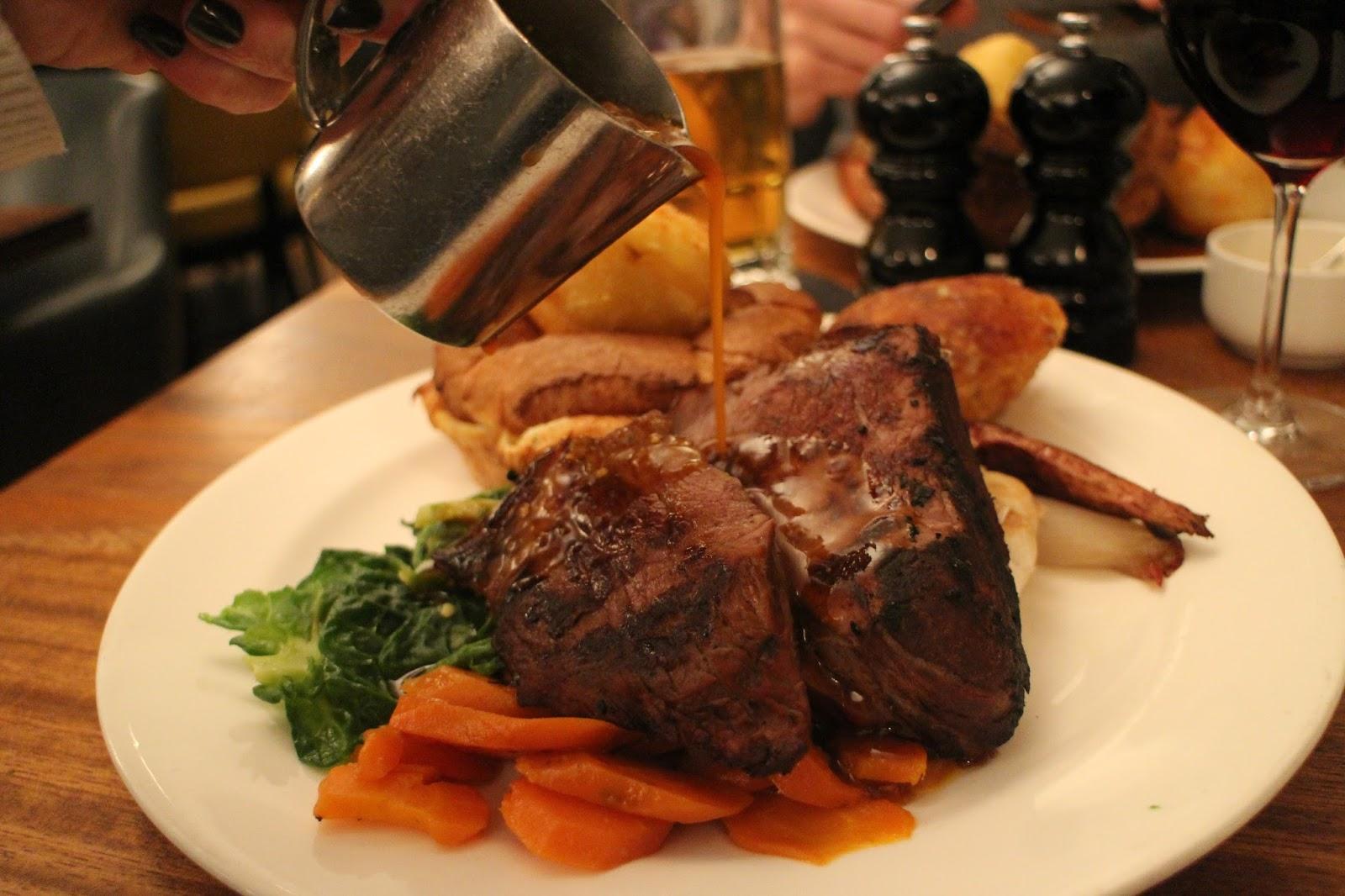 Sunday Lunch At Hawksmoor Knightsbridge