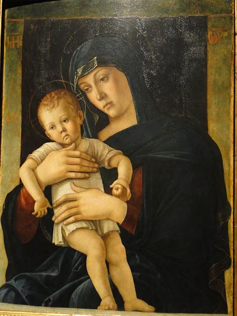 """Pintura """"Madonna col Bambino de Giovanni Bellini"""