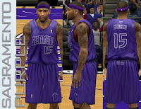 NBA 2K13 Sacramento Kings Fictional X-mas Jersey