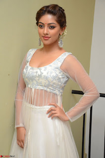Anu Emmanuel in a Transparent White Choli Cream Ghagra Stunning Pics 085.JPG