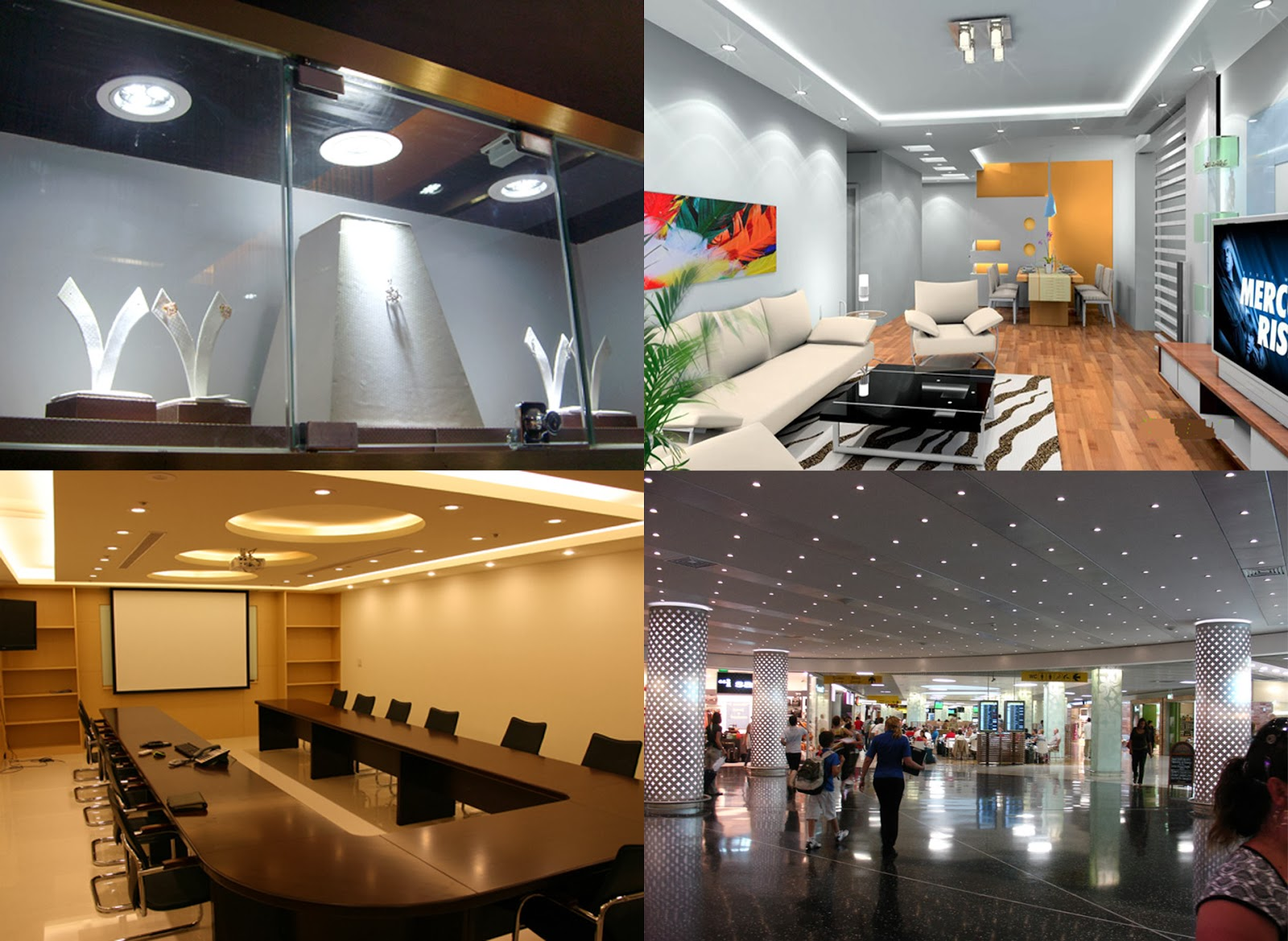 led down light for residential, commercial lighting