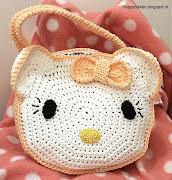 Hello Kitty gehaakt tasje | ook als compleet haakpakket
