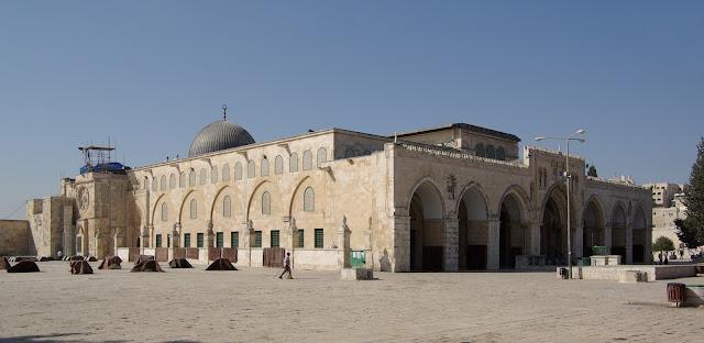 serah terima kunci kota Yerusalem