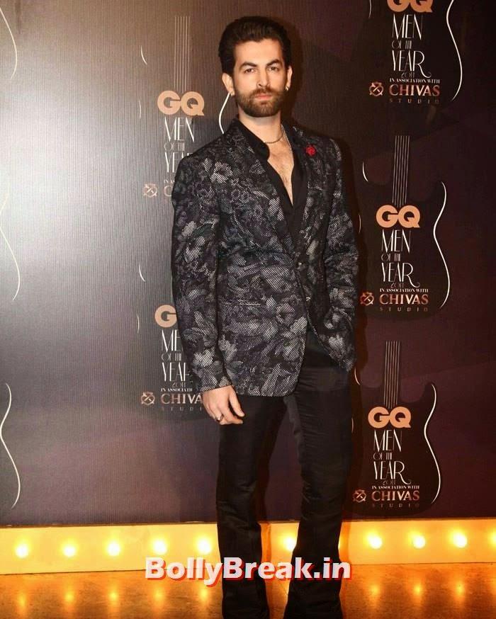 Neil Nitin Mukesh, Red Carpet Pics of GQ Men Of The Year Awards 2014