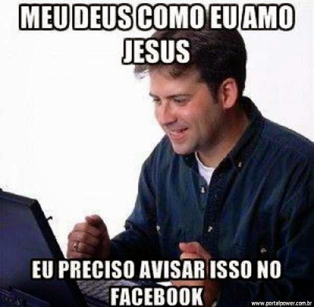 Será que Jesus tem Facebook? Ou Outra Rede Social?