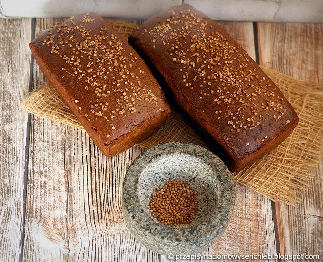 Borodiński - rosyjski chleb żytni z zaparką