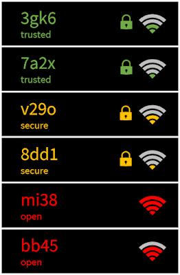 Listado redes WiFi 2 imagen