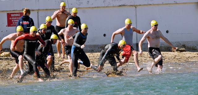 Depart natation libre