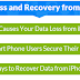 iPhone Data Loss: Recovery Tips, Reasons & Statistics - Infographic