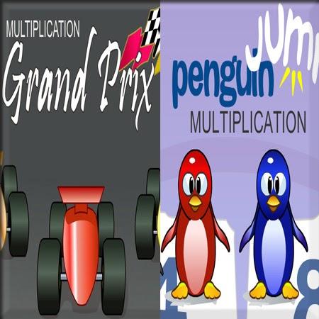 ARCADEMIC SKILL BUILDER: 2 Divertidos juegos interactivos matemáticos