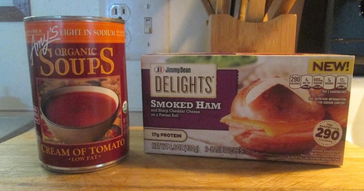 Diab2cook Jimmy Dean Delights Smoked Ham Sandwich W Amys Creamy