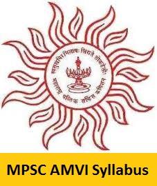 MPSC AMVI Syllabus