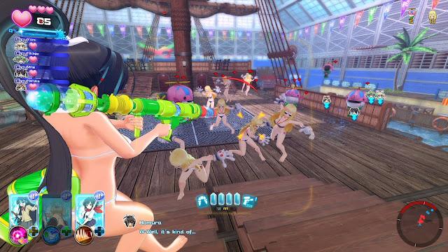 Senran Kagura Peach Beach Splash Free Download Screenshot 2
