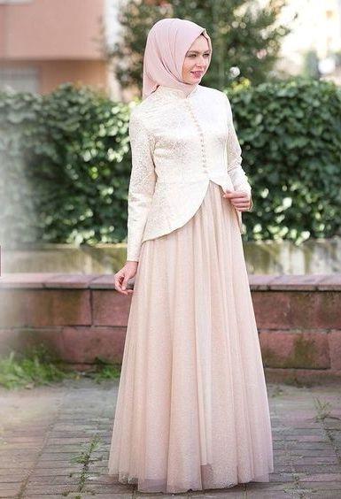 10 Model Kebaya Dress Panjang Paling Populer