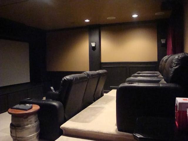 C mo crear tu propia sala de cine en casa un home - Crear mi propia casa ...
