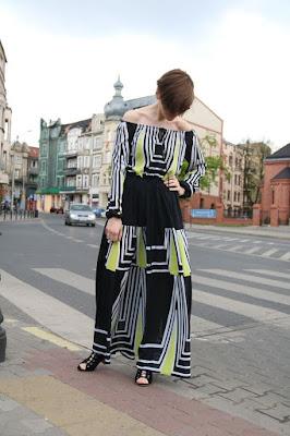 sukienka, sukienka maxi, boho dress, novamoda, Novamoda streetstyle, stylistka poznan, stylistka, blog po 30-tce,