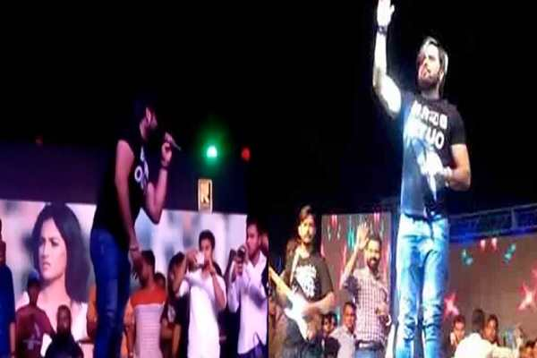 punjabi-singer-ninja-good-performance-in-faridabad-news