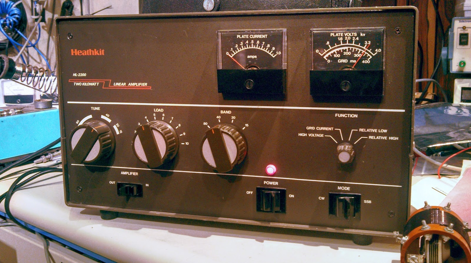 KA7OEI's blog: Repairing the TUNE capacitor on the Heathkit