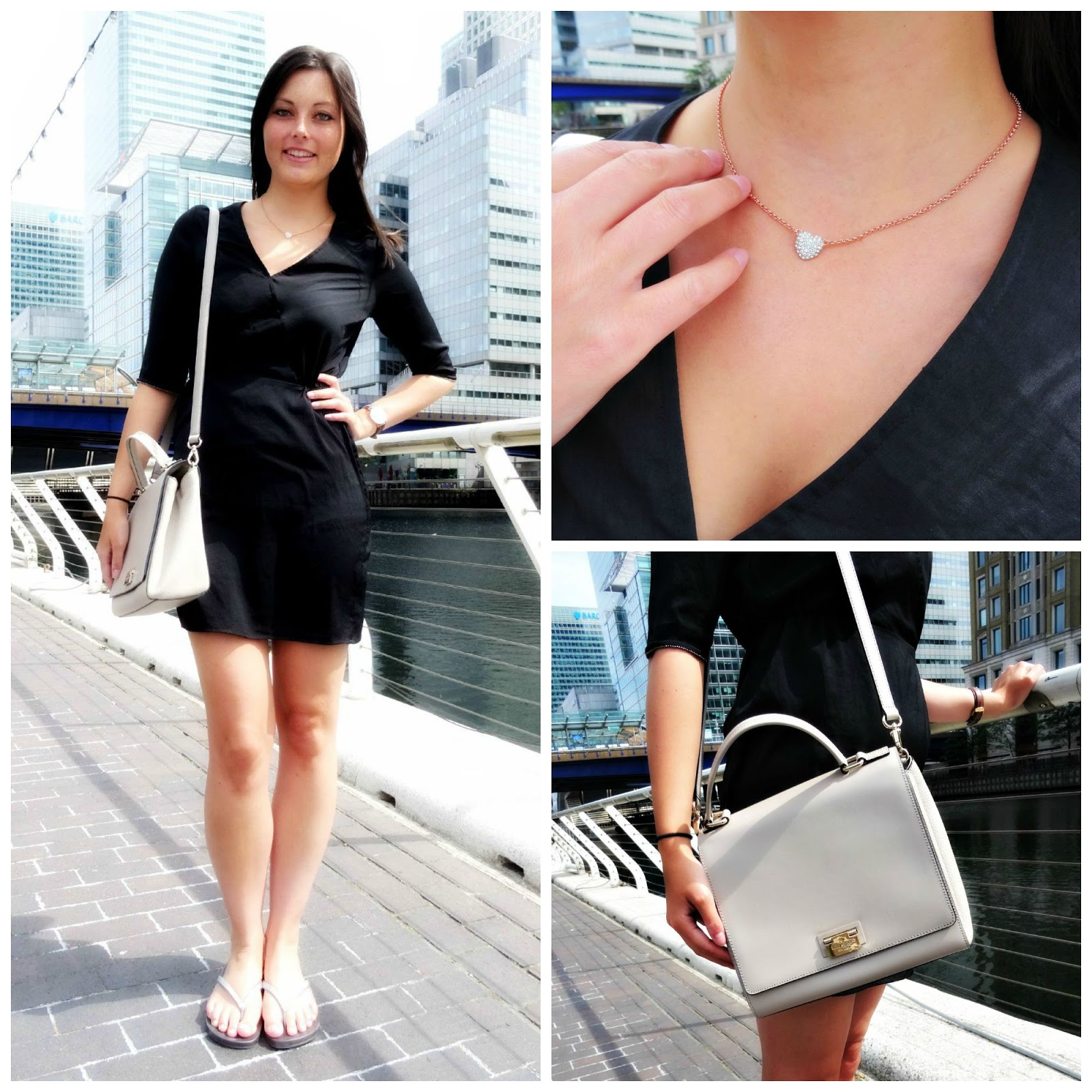 Canary Wharf fashion post