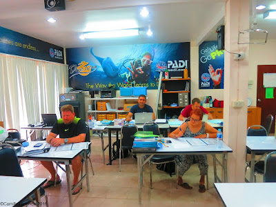 PADI IDC course for May 2016 has started on Phuket, Thailand