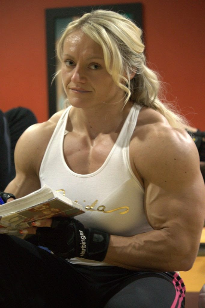 Muscular women big